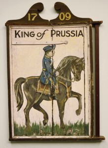 Old King of Prussia Inn Sign